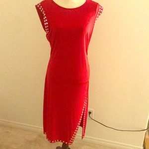 Red dress worn once